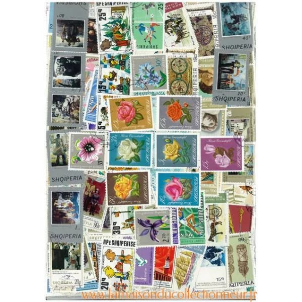 Timbres Collections Albanie Oblitrs Timbres Europe