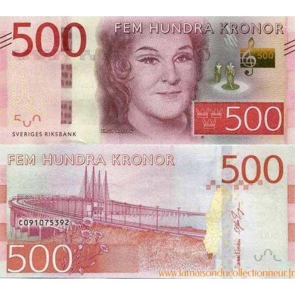 Billet De Banque Collection Suede PK N 73 500 Kronor