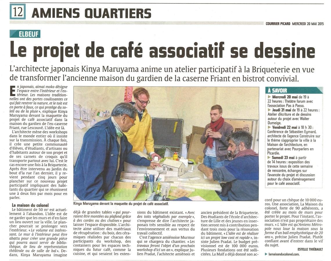 Café Associatif Courrier Picard