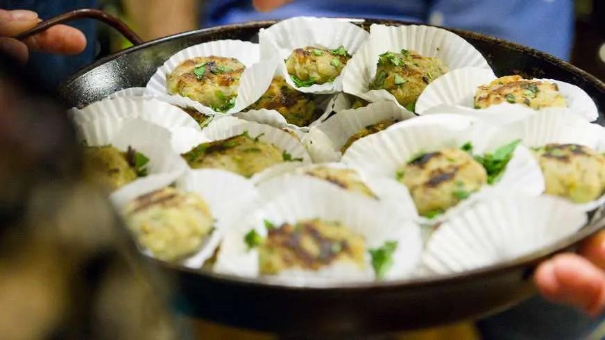 Aloo Tiki ou gâteaux de pommes de terre Indienne