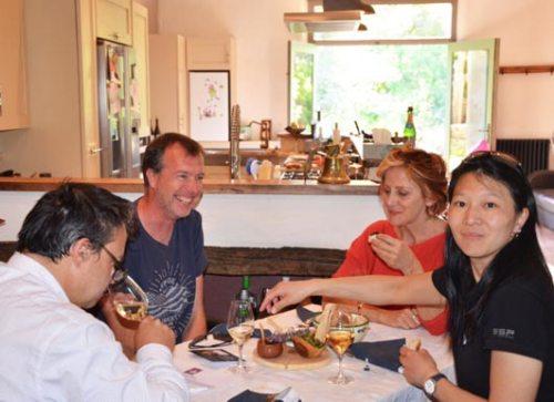 group wine tapas