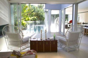 Chairs to pool