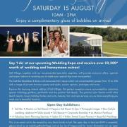 Salt Village Wedding Open Day - 15 August 2015
