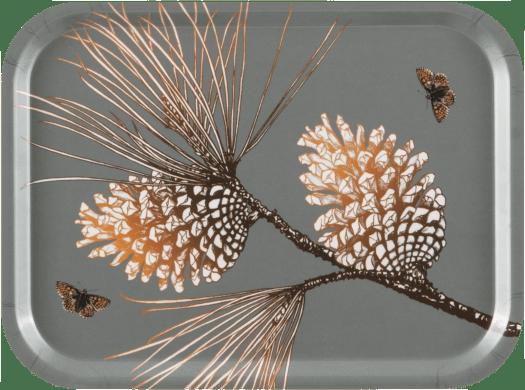 Plateau Pine cone gris