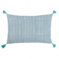 Coussin à rayures Lead