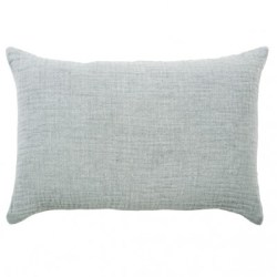 coussin lino steel light