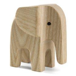 eléphant en bois naturel Novoform