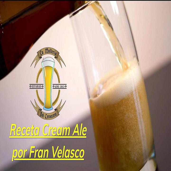 Cream Ale receta todo grano