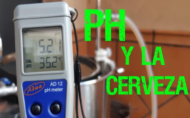 pH en la elaboración de cerveza