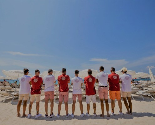 Equipe de la Mandala - Plage Cannes