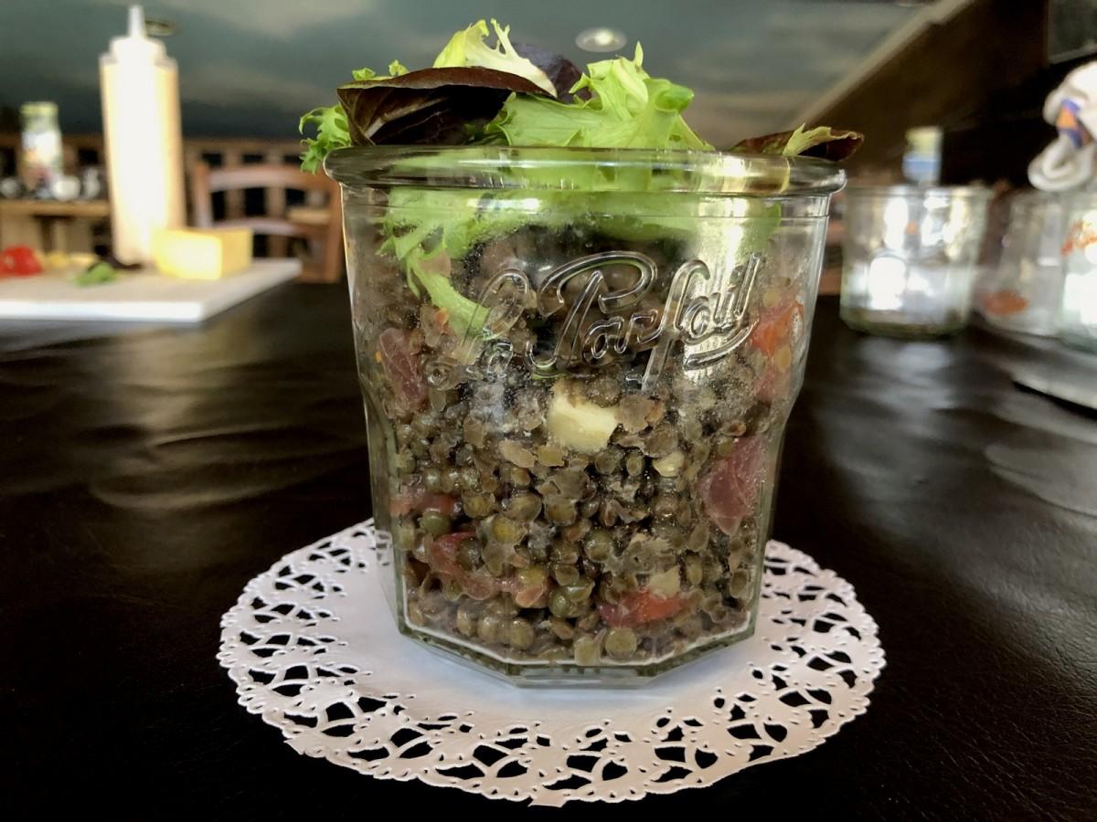 Le bocal Le Parfait® de lentilles vertes AOP du Puy-en-Velay maison