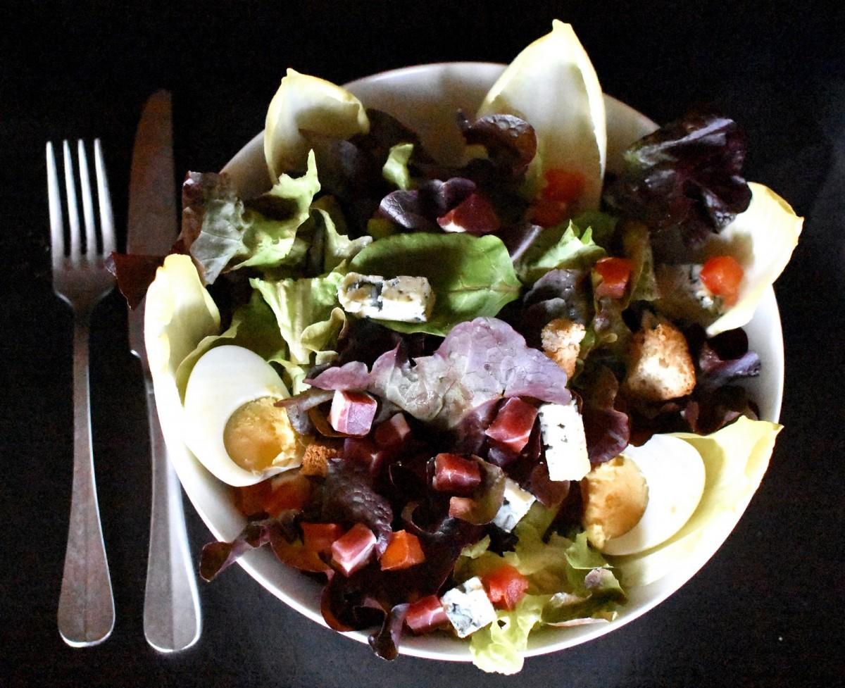 Salade Auvergnate - La Mangoune