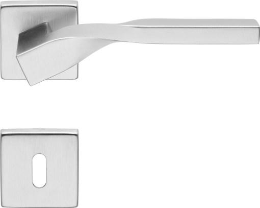 Maniglie Linea Calì Twist cromo satinato R90