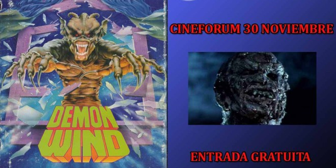 Cineforum – Demon Wind (Viento Infierno) – GRATIS en Madrid