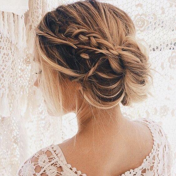 Cheveux court et fin coiffure