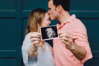 annonce d'une grossesse par un couple