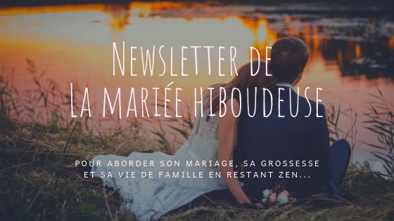 Newsletter de La mariée hiboudeuse