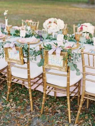 Inspirations pour un mariage doré | Table pour mariage doré | présenté par La Mariée Sous Les Etoiles
