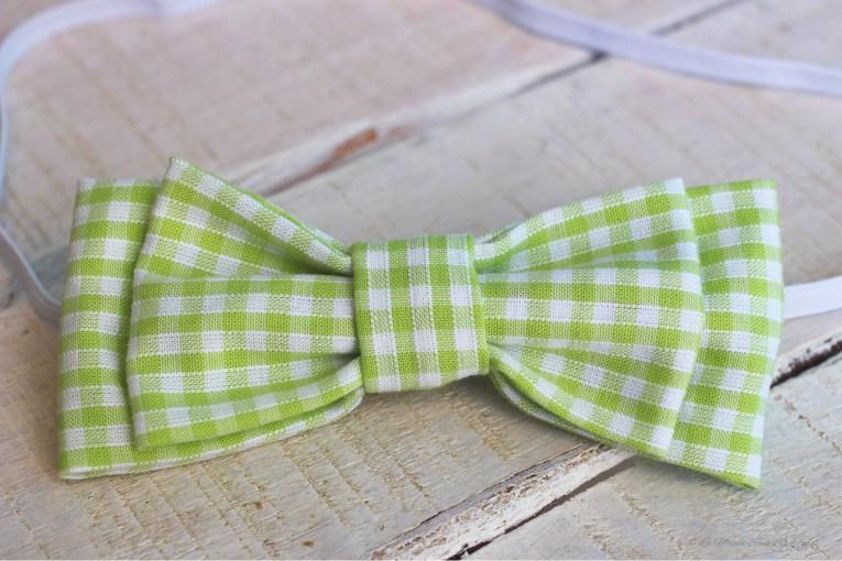 {DIY} • Comment fabriquer un nœud papillon | Détail nœud pap' vert personnalisable