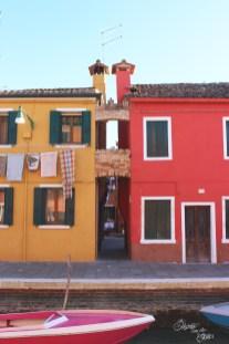 Jolies maisons colorées de Burano   Voyage en amoureux - Venise, Italie