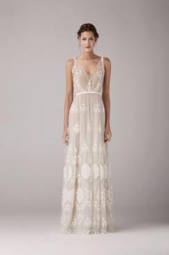 Robe de mariée Anna Kara, modèle May, Plume Paris