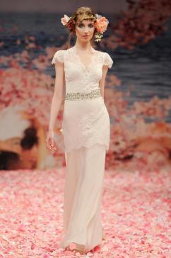 Robe de mariée Claire Pettibone, modèle Beauty, Boutique Plume Paris