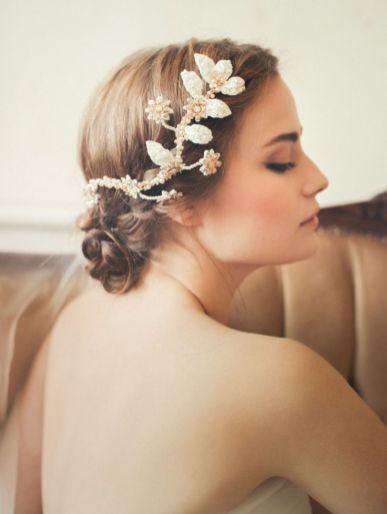 Couronne de fleurs Mariage _ Photography Sandra Åberg for Jannie Baltzer
