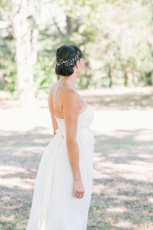 Bijou de tête mariée Prisca - L'Atelier de Sylvie