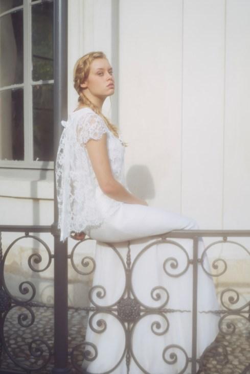 JUPE SOLENE TOP REZA 2 - Organse Paris - Collection 2016 robes de mariée sur-mesure