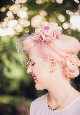 chignon mariage rétro © Audra Wrisley Photography