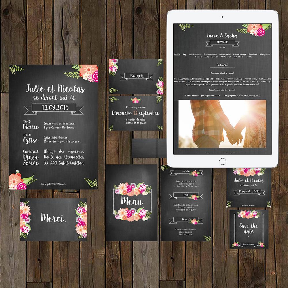 Concours - Gagne ton blog de mariage personnalisé - Petit Mariage Entre Amis X Mes Petites Affiches | La Mariée Sous Les Etoiles