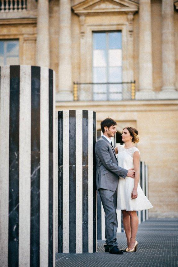 Shooting d'inspiration Gold, Black & White - Photo © Charles Séguy | Blog Mariage | La Mariée Sous Les Etoiles