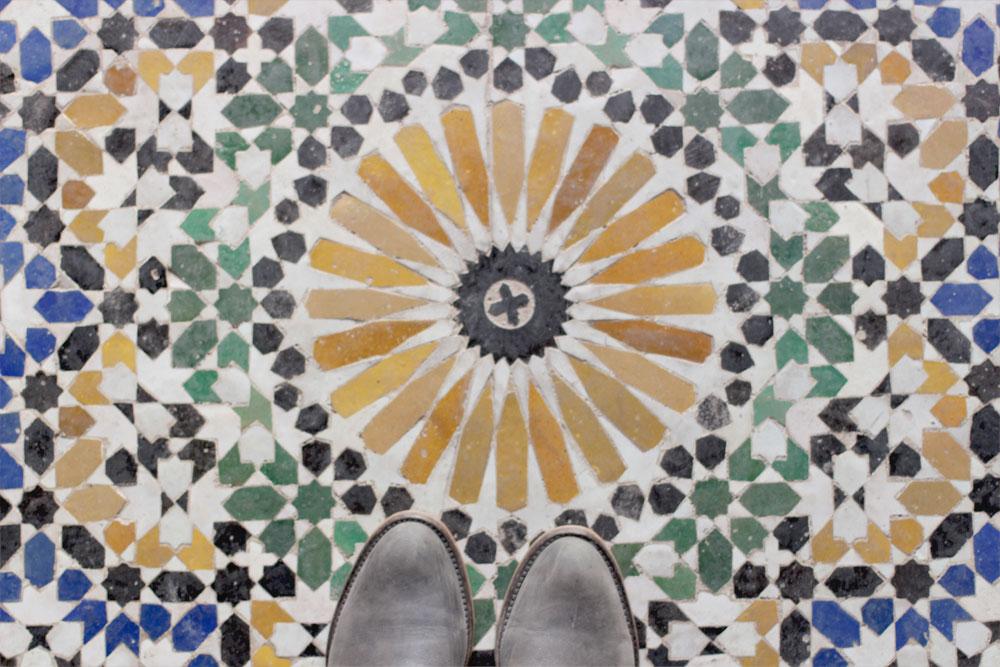 Les jolies couleurs de Marrakech © La Mariée Sous Les Etoiles