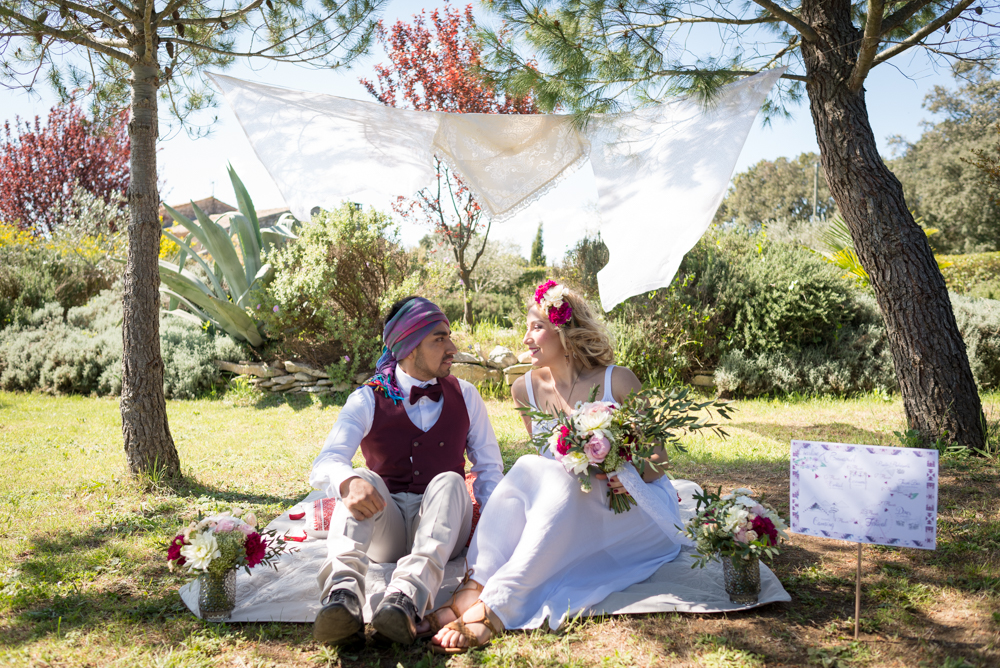 Shooting d'inspiration mariage Coachella - Credit Laura Michel - LM La Photo - Blog La Mariée Sous Les Etoiles