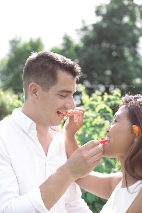 Putri & Julien | une séance engagement bucolique | Crédit Efi Photography | Blog mariage La Mariée Sous Les Etoiles