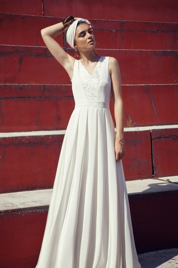 Les Mariées Collection 2017 signée Anne de Lafforest   Charlotte Studio   Blog mariage La Mariée Sous Les Etoiles
