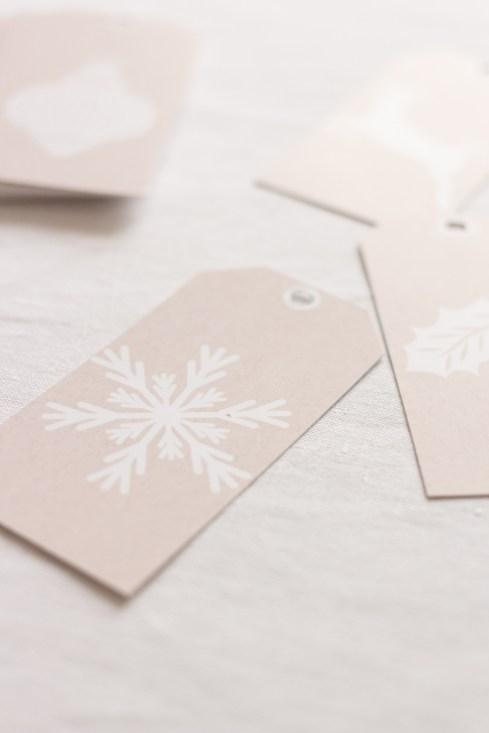 DiY Printable - Mes petites étiquettes de Noël à imprimer   Blog La Mariée Sous Les Etoiles