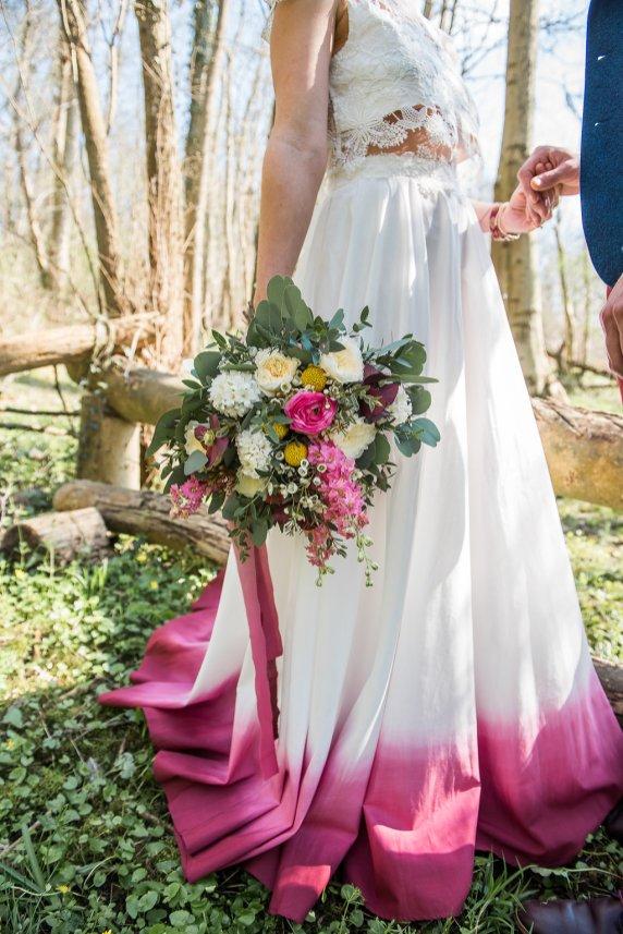 Shooting d'inspi mariage boho denim dans la forêt bordelaise blondie confettis (8)