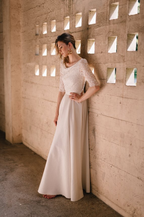 Clémentine Iacono • Nouvelle collection 2018 de robes de mariée