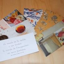 carte et enveloppe faite main n°3