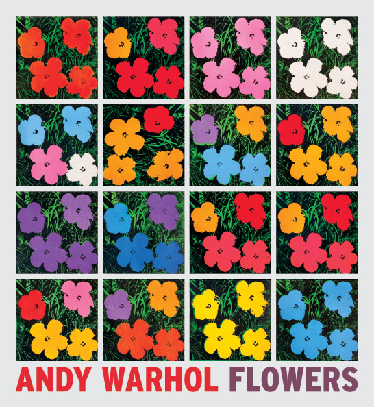 Flowers Andy Warhol