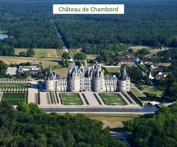 LaMaugerieULM-Autogire- Château de Chambord