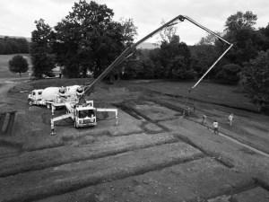 Lambcon Concrete Footer installation