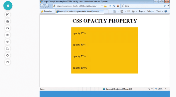 Fixing Browser Compatibility Issues With CSS Opacity ...