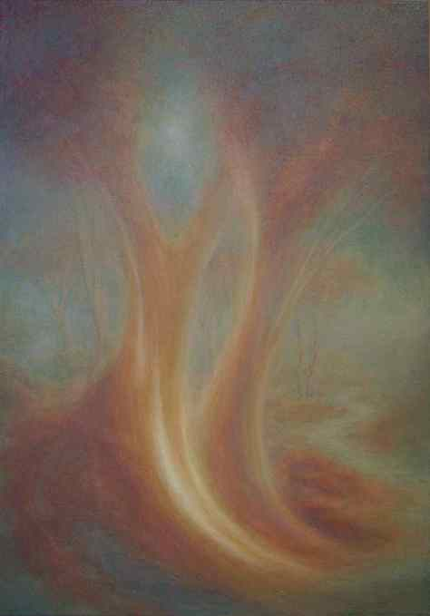 A Tree for Charlotte Oil on canvas 84 x 120 cm Available from Masterart via this website.