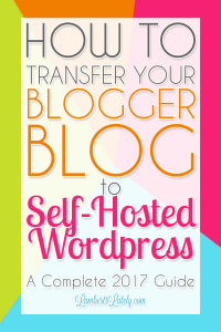 How to Switch Your Blog From Blogger to WordPress