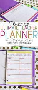 The 2017-2018 Ultimate Teacher Planner
