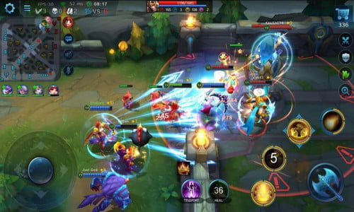 Game Heroes Evolved Mirip Mobile Legend