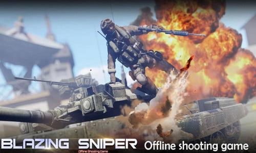 Game Blazing Sniper Perang Untuk Android