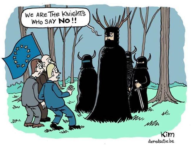 Cartoon by Kim Duchateau